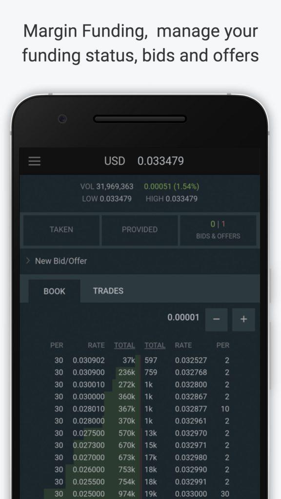 Bitfinex app