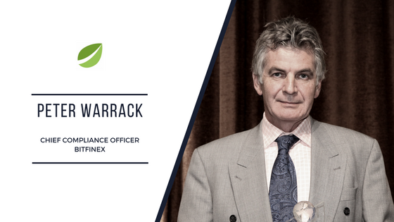 Peter Warrack - Bitfinex Chief Compliance Officer