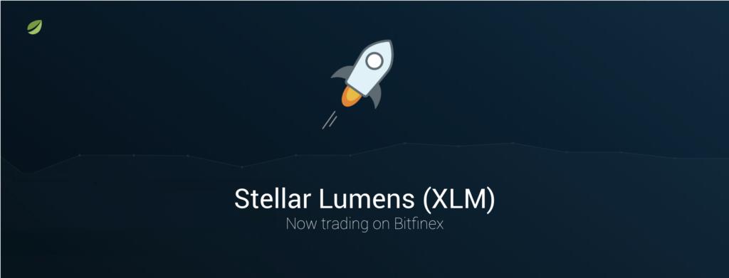 Bitfinex Launches Stellar (XLM) Trading