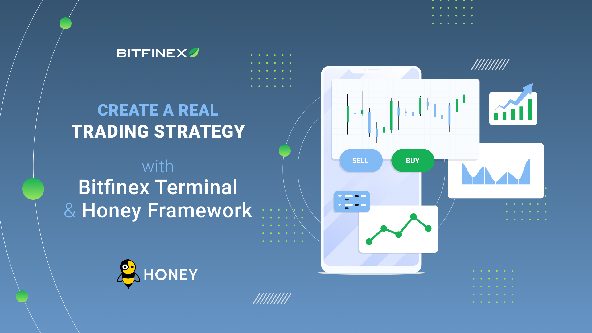 Execute your Trading Strategy with the Honey Framework and Bitfinex Terminal