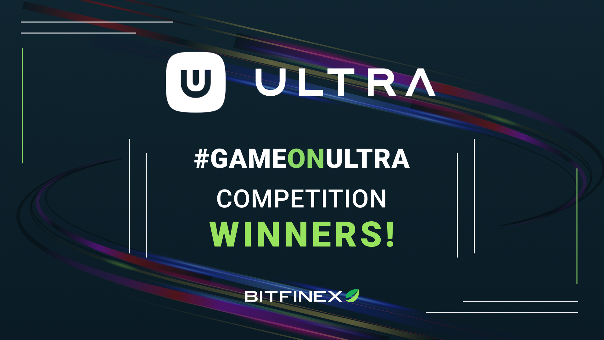 Congratulations to the #GameOnUltra trading competition winners!